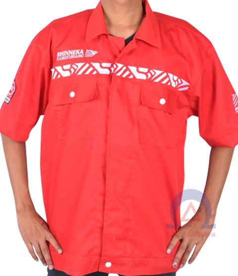 kemeja-bhinneka-red